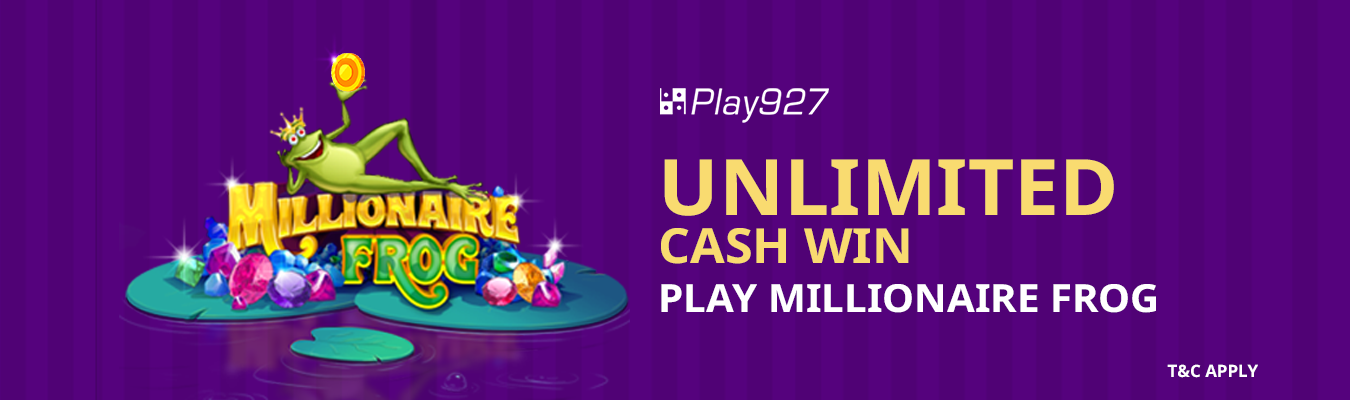 MILLIONAIRE FROG PLAY927